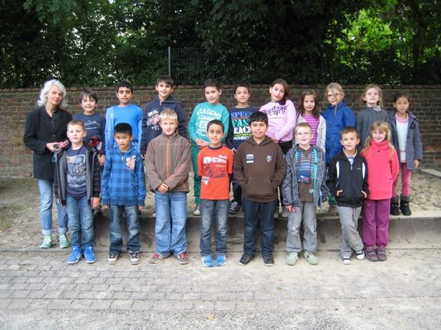 Klasse 3a – Schuljahr 2013/2014 – Klassenlehrerin Frau Bonnenberg - Berker