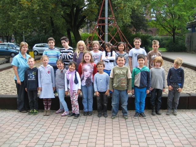 Klasse 3b – Schuljahr 2013/2014 – Klassenlehrerin Frau Rolf