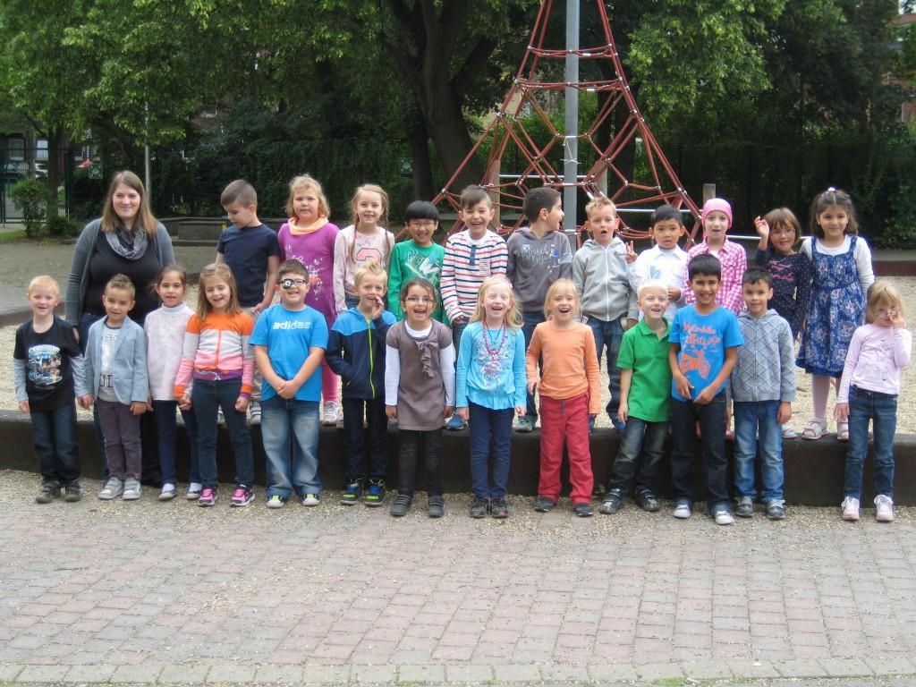 Klasse 1a - Schuljahr 2014/2015 - KlassenlehrerIn: Frau Mehwald