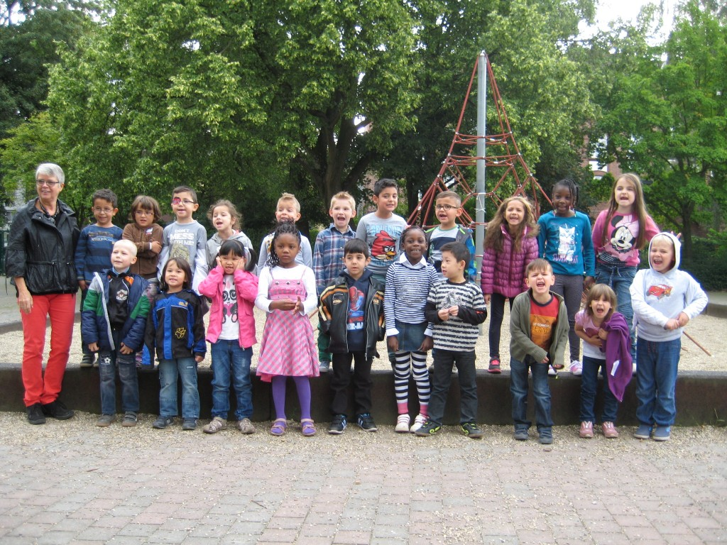 Klasse 1b – Schuljahr 2014/2015 – Klassenlehrerin Frau Walter