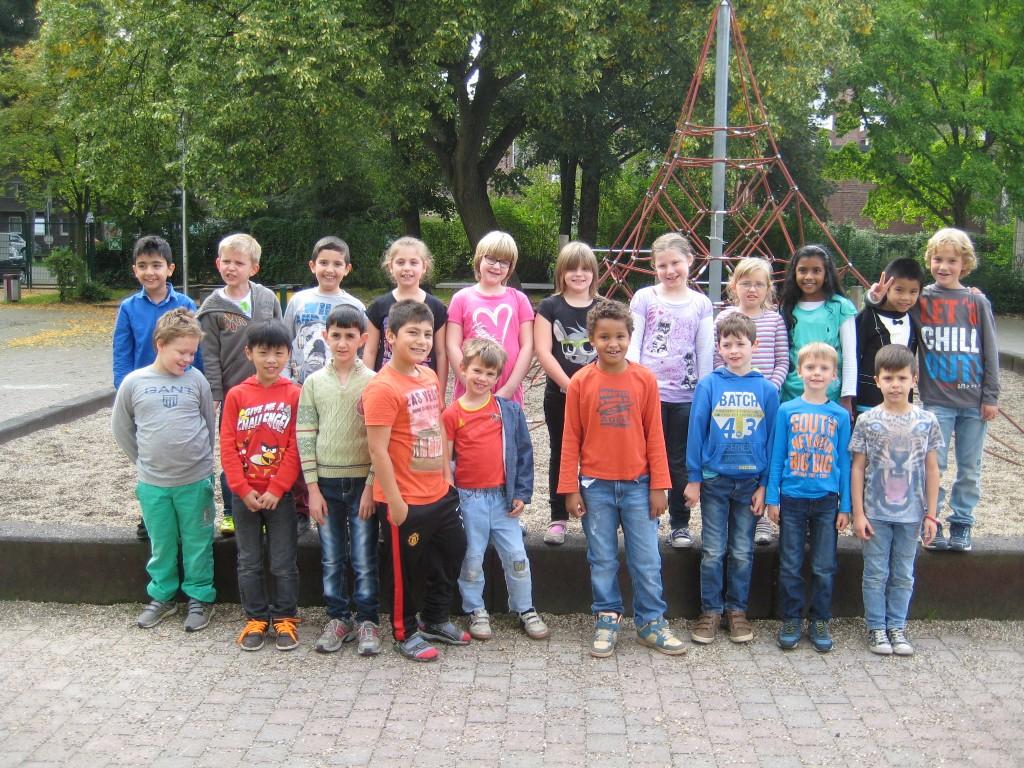 Klasse 3a – Schuljahr 2014/2015 – Klassenlehrer Herr Schmacke