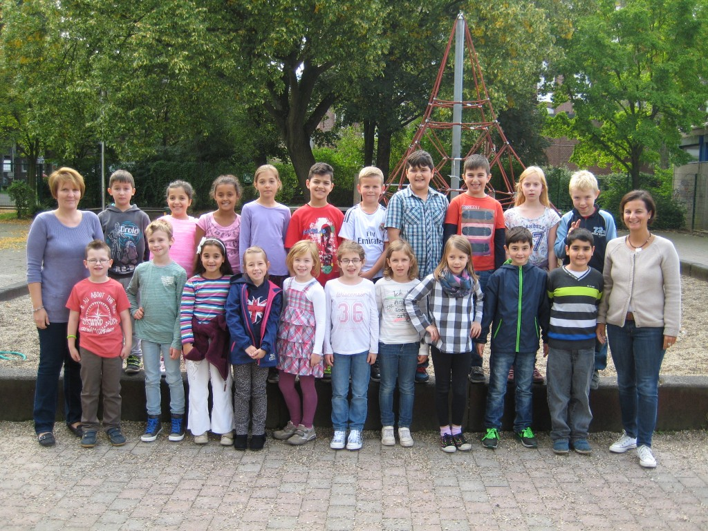 Klasse 3b – Schuljahr 2014/2015 – Klassenlehrerin Frau Holewik