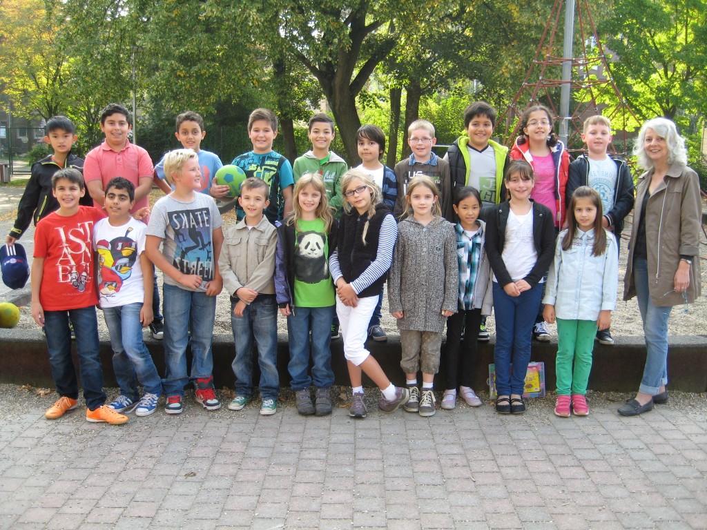 Klasse 4a – Schuljahr 2014/2015 – Klassenlehrerin Frau Bonnenberg – Berker