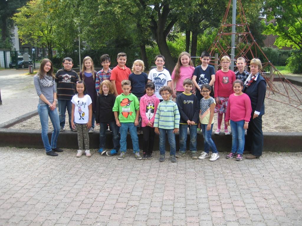 Klasse 4b – Schuljahr 2014/2015 – Klassenlehrerin Frau Rolf